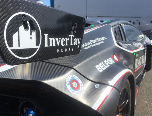 Forfar teenager Sandy Mitchell aims to build Blancpain GT Success with Invertay Homes
